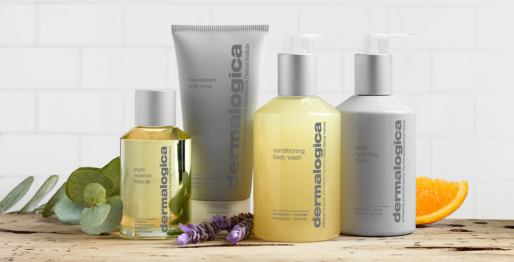Dermalogica Body Collection with Natural Ingredients