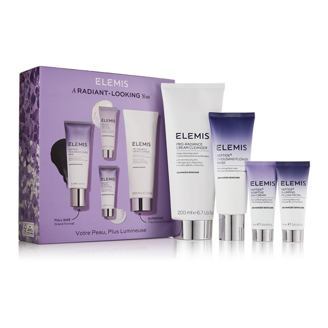 Elemis Peptide A Radiant-Looking You Collection