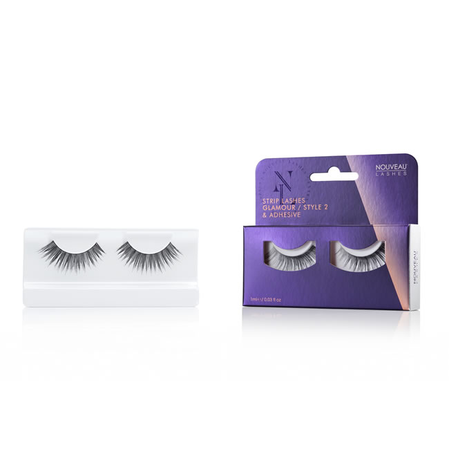 Nouveau Strip Lashes - Glamour Style 2