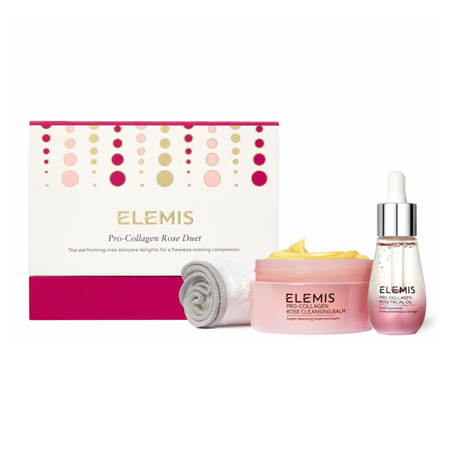 Elemis Pro-Collagen Rose Duet Christmas Gift Set