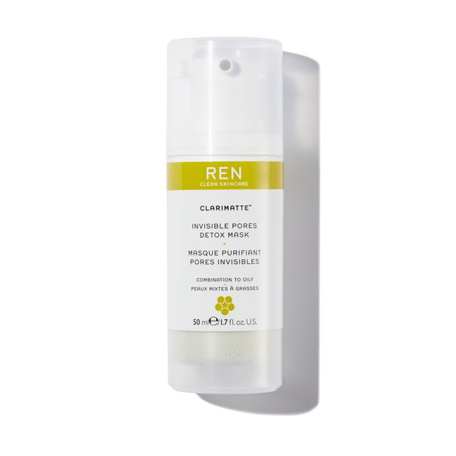 REN Clean Skincare Clarimatte Invisible Pores Detox Mask (50ml)