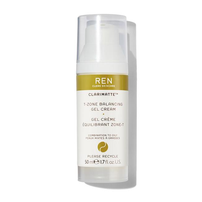 REN Clean Skincare Clarimatte T-Zone Balancing Gel Cream (50ml)