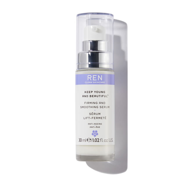 REN Clean Skincare Keep Young And Beautiful Firming And Smoothing Serum (30ml)