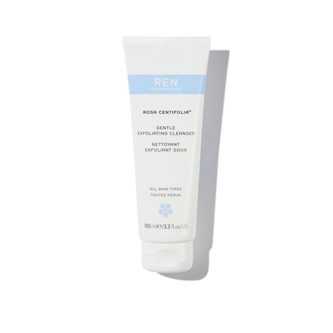 REN Clean Skincare Rosa Centifolia Gentle Exfoliating Cleanser (100ml)