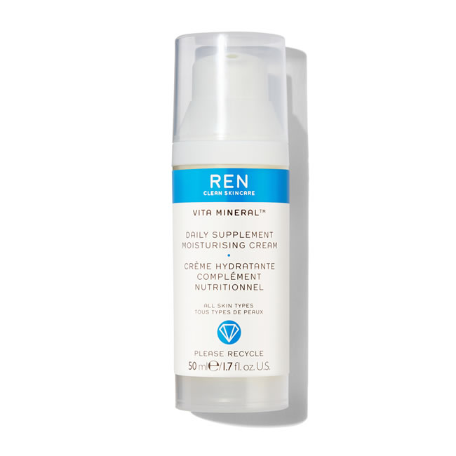 REN Clean Skincare Vita Mineral Daily Supplement Moisturising Cream (50ml)