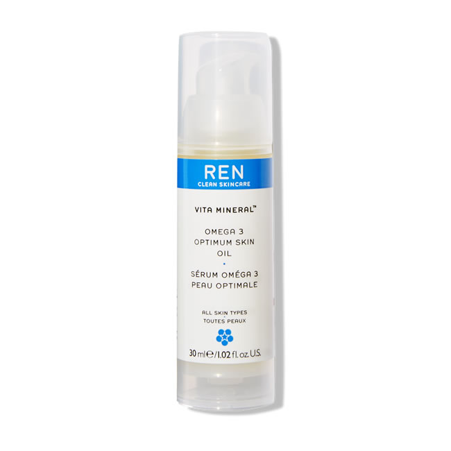 REN Clean Skincare Vita Mineral Omega 3 Optimum Skin Oil (30ml)