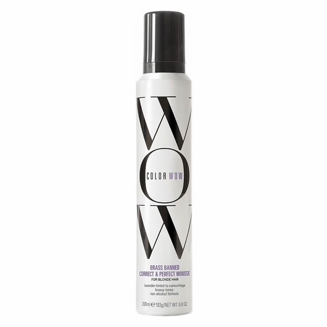 Color Wow Color Control Toning and Styling Foam - Blonde (200ml)