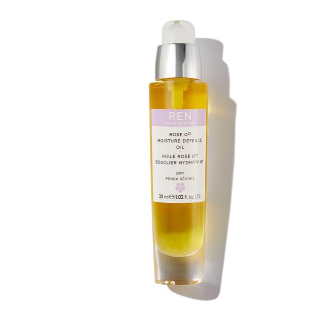 REN Clean Skincare Rose O12 Moisture Defence Oil (30ml)