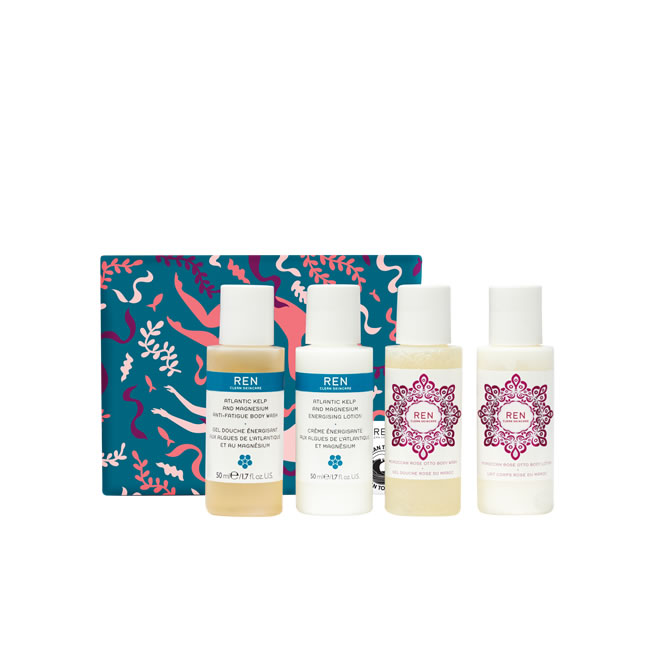 REN Clean Skincare Best of Body Christmas Gift Set