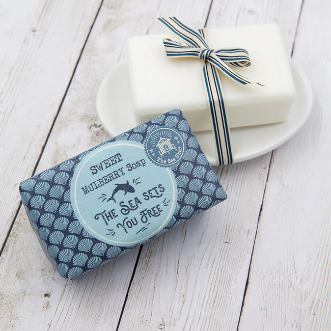 The Sea Shed Sweet Mulberry Soap (190g)