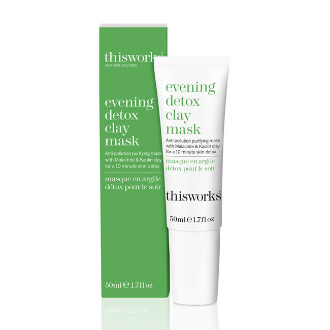 This Works Evening Detox Clay Mask (50ml)