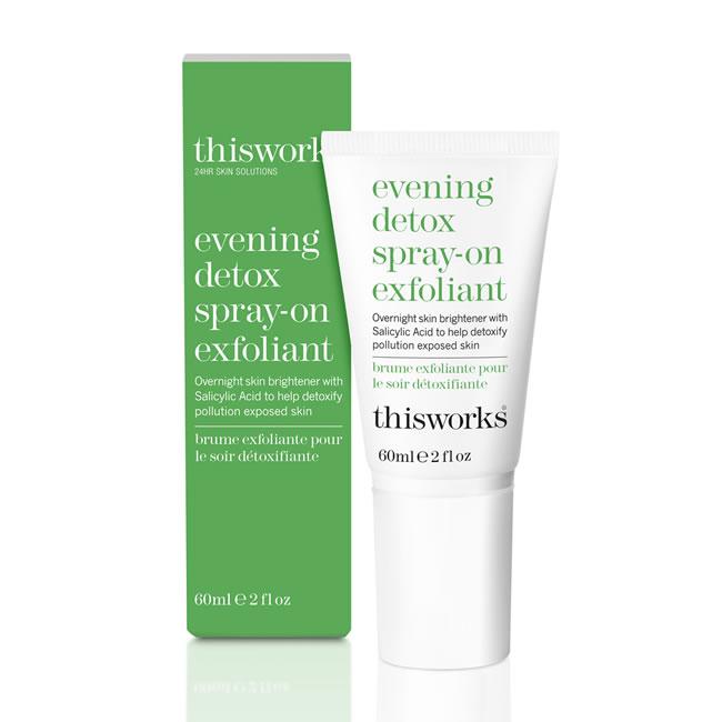 This Works Evening Detox Spray On Exfoliant (60ml)