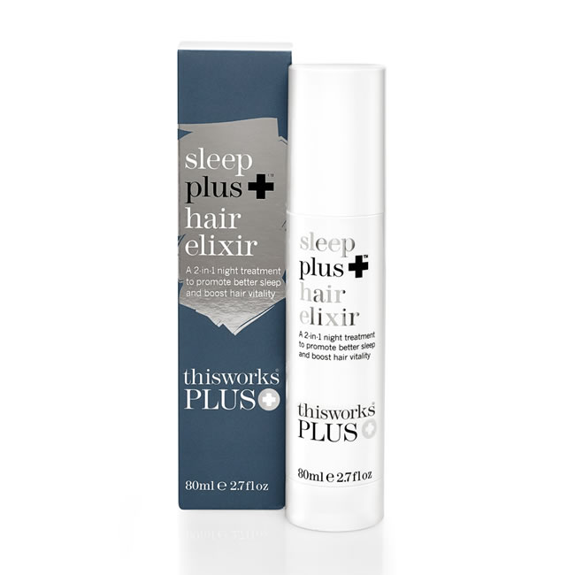 This Works Sleep Plus Hair Elixir (80ml)