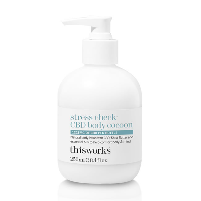 This Works Stress Check CBD Body Cocoon (250ml)