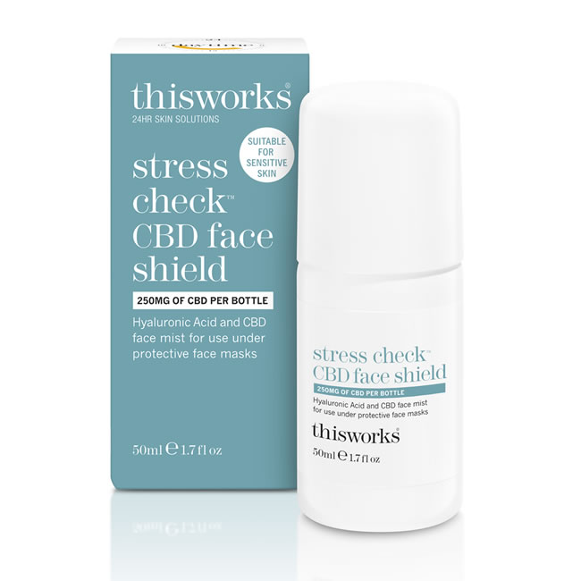 This Works Stress Check CBD Face Shield (50ml)