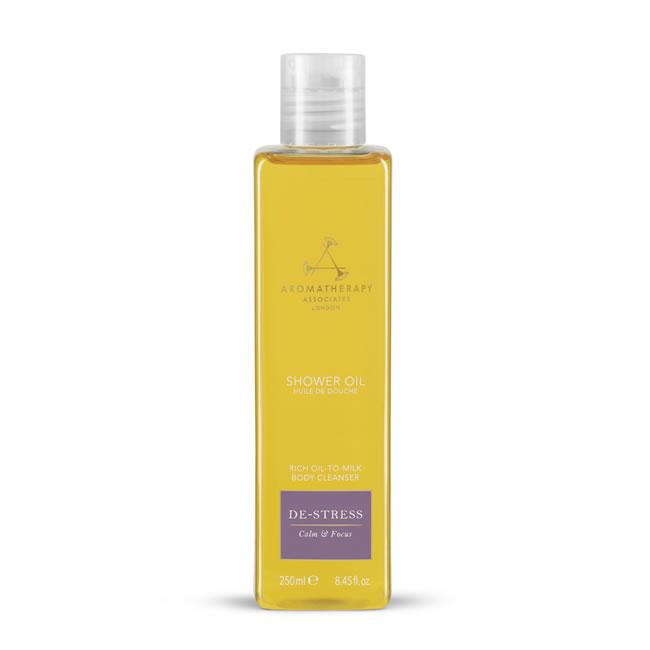 Aromatherapy Associates De-Stress Mind Shower Oil (250ml)