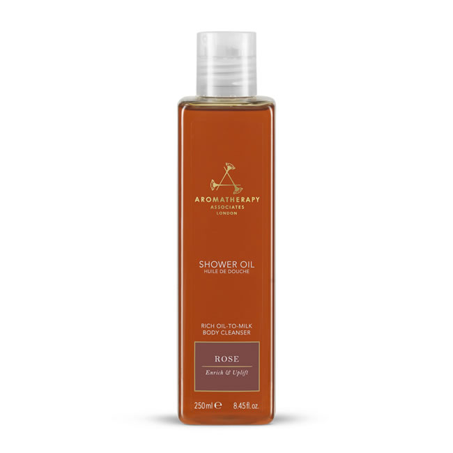Aromatherapy Associates Renewing Rose Shower Oil (250ml)