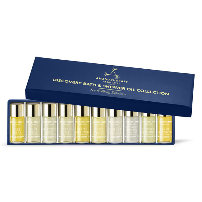 Aromatherapy Associates Discovery Wellbeing Miniature Collection (10x3ml)