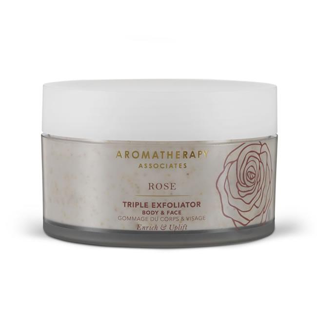 Aromatherapy Associates Rose Triple Exfoliator (200ml)