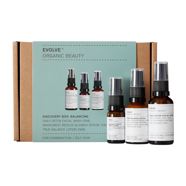 Evolve Organic Beauty Discovery Box: Balancing