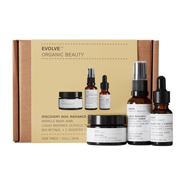 Evolve Organic Beauty Discovery Box: Radiance