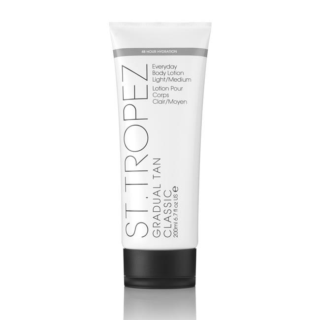 St.Tropez Gradual Tan Classic Everyday Light/Medium Body Lotion (200ml)