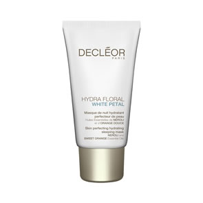 Decleor Hydra Floral White Petal Skin Perfecting Hydrating Sleeping Mask (50ml)