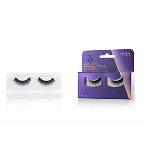 Nouveau Strip Lashes - Glamour Style 3