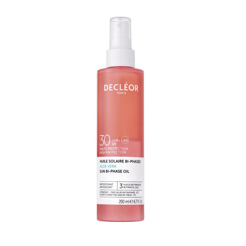 Decleor Aloe Vera Sun Bi-Phase Oil SPF30 (200ml)