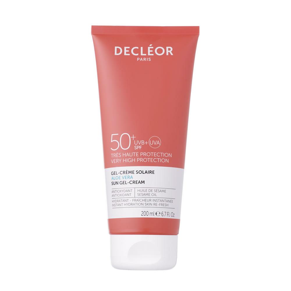 Decleor Aloe Vera Sun Gel Cream SPF50 (200ml)