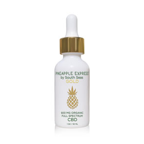 South Seas - Pineapple Express CBD Drops (30ml)