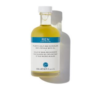 REN Clean Skincare Atlantic Kelp And Microalgae Anti-Fatigue Bath Oil (110ml)