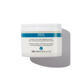 REN Clean Skincare Atlantic Kelp And Magnesium Anti-Fatigue Exfoliating Body Scrub (330ml)