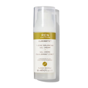 REN Clean Skincare Clarimatte T-Zone Balancing Gel Cream (50ml)