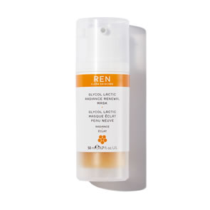 REN Clean Skincare Glycol Lactic Radiance Renewal Mask (50ml)