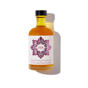 REN Clean Skincare Moroccan Rose Otto Bath Oil (110ml)