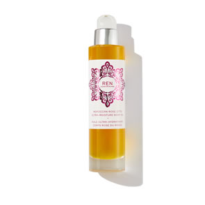 REN Clean Skincare Moroccan Rose Otto Ultra-Moisture Body Oil (100ml)