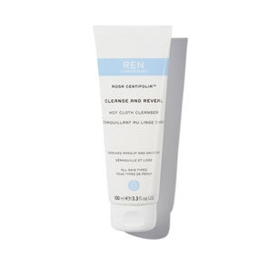 REN Clean Skincare Rosa Centifolia Cleanse and Reveal Hot Cloth Cleanser (100ml)