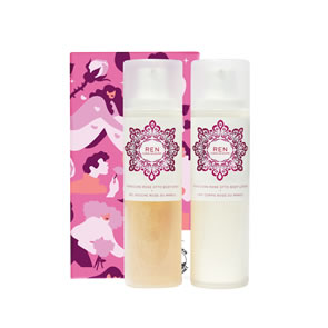 REN Clean Skincare Body Bliss Rose Duo Christmas Gift Set