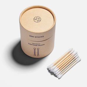 Zero Waste Cotton Buds (Pack of 200)