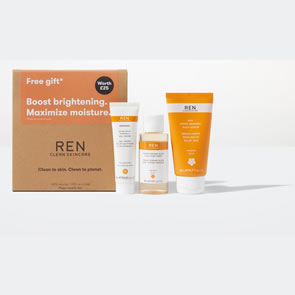 REN Brightening and Moisturising Gift Set