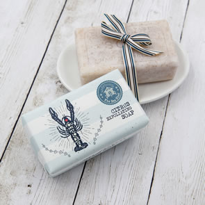 The Sea Shed Citrus Exfoliating Soap (190g)