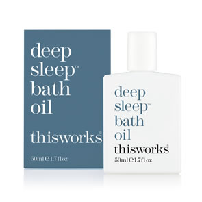 This Works Deep Sleep Bath Oil (50ml)