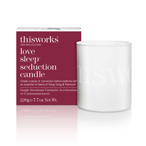 This Works Love Sleep Seduction Candle (220g)