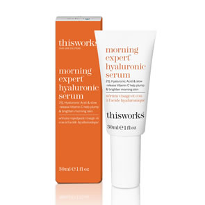This Works Morning Expert Hyaluronic Serum (30ml)
