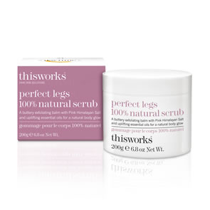 This Works Perfect Legs Natural Scrub (200g)