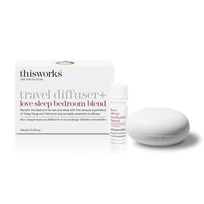 This Works Travel Diffuser and Love Sleep Bedroom Blend (10ml)
