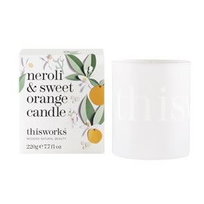 This Works Neroli and Sweet Orange Candle (220g)