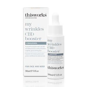 This Works My Wrinkles CBD Booster + Bakuchiol (30ml)
