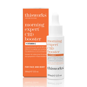 This Works Morning Expert CBD Booster + Vitamin C (30ml)